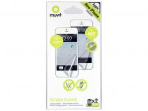 Muvit iPhone SE/5S/5C Screenprotectors (Mat + Glans)