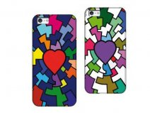 Tucano Cuore Hard Case - iPhone SE / 5s / 5 hoesje