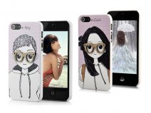 Boy & Girl Back Case - iPhone SE / 5s / 5 hoesje