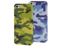 Camouflage Army Case - iPhone SE / 5s / 5 hoesje