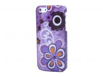 Funky Flowers Case - iPhone SE / 5s / 5 hoesje