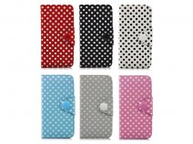 Polka Dot Wallet Case - iPhone SE / 5s / 5 hoesje