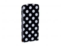 Polka Dot Flipcase - iPhone SE / 5s / 5 hoesje