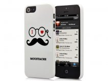Moustache Professor Case - iPhone SE / 5s / 5 hoesje