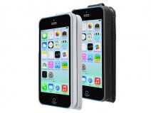 Artwizz Seejacket Leather Flip Case Hoes voor iPhone 5c