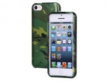 Camouflage Hard Case voor iPhone 5C