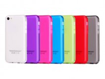 Crystal TPU Case Hoesje voor iPhone 5C