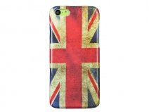 Vintage Great-Brittain Flag Case Hoesje voor iPhone 5C
