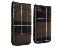Barbour Tartan Flip Case - iPhone SE / 5s / 5 Hoesje