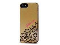 Just Cavalli Gold Leopard Case - iPhone SE/5s/5 hoesje