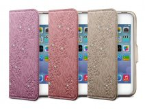 Marblue Sparkle Book Case - iPhone SE/5s/5 hoesje