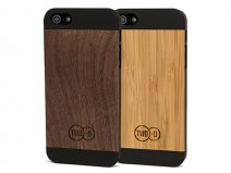 TWO-O Slim Case Wood - iPhone SE / 5s / 5 hoesje