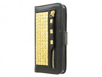 Studs Roxie Bookcase - iPhone SE / 5s / 5 hoesje