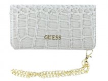 Guess Glossy Croco Clutch Case - iPhone 6/6s hoesje
