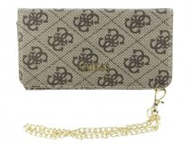 Guess Monogram Clutch Case - iPhone 6/6s hoesje