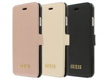 Guess Saffiano Bookcase - iPhone 6/6s hoesje