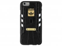 adidas Superstar Case Zwart/Wit - iPhone 6/6S Hoesje