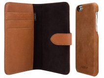 Agna Magneat 2in1 Case Cognac Leer - iPhone 6/6s hoesje