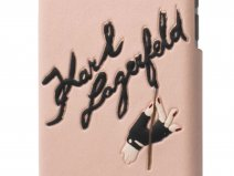 Karl Lagerfeld Signature Case - iPhone 6/6s hoesje