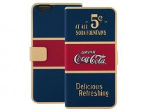 Coca-Cola iPhone 6 Plus/6S Plus Booklet Case - 5 cents