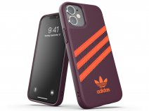 Adidas Originals Case Maroon/Orange - iPhone 12 Mini hoesje