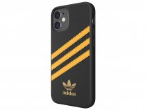Adidas Originals Case Zwart/Oranje - iPhone 12 Mini hoesje