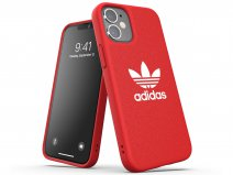 Adidas Originals Logo Case Rood - iPhone 12 Mini hoesje