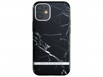 Richmond & Finch Black Marble Case - iPhone 12 Mini hoesje