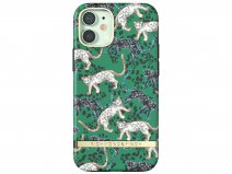 Richmond & Finch Green Leopard Case - iPhone 12 Mini hoesje