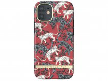 Richmond & Finch Red Leopard Case - iPhone 12 Mini hoesje