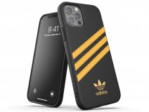 Adidas Originals Case Zwart/Oranje - iPhone 12/12 Pro hoesje