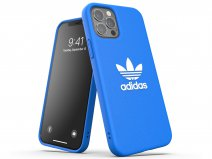Adidas Originals Logo Case Blauw - iPhone 12/12 Pro hoesje