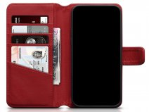 CaseBoutique Leather Wallet Rood Leer - iPhone 12/12 Pro hoesje