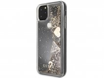 Guess Floating Charms Case Goud - iPhone 12/12 Pro hoesje