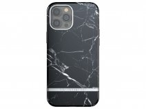 Richmond & Finch Black Marble Case - iPhone 12/12 Pro hoesje