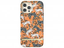 Richmond & Finch Orange Leopard Case - iPhone 12/12 Pro hoesje