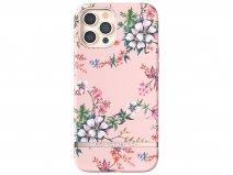 Richmond & Finch Pink Blooms Case - iPhone 12/12 Pro hoesje