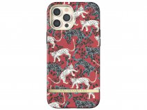 Richmond & Finch Red Leopard Case - iPhone 12/12 Pro hoesje