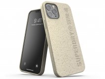 Superdry Bio Snap Case Beige - iPhone 12/12 Pro hoesje