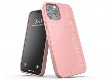 Superdry Bio Snap Case Roze - iPhone 12/12 Pro hoesje