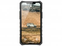 Urban Armor Gear Pathfinder Case Zilver - iPhone 12/12 Pro hoesje