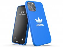 Adidas Originals Logo Case Blauw - iPhone 12 Pro Max hoesje