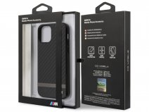 BMW M Line Carbon Case - iPhone 12 Pro Max hoesje