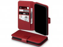 CaseBoutique Leather Wallet Rood Leer - iPhone 12 Pro Max hoesje