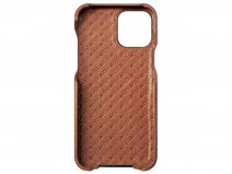 Vaja Grip Leather Case Cognac - iPhone 12 Pro Max Hoesje Leer