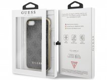 Guess Monogram Case Grijs - iPhone SE 2020 / 8 / 7 / 6 hoesje