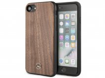 Mercedes-Benz Walnut Case - Houten iPhone SE 2020 hoesje
