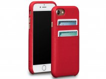 Sena Leather SnapOn Wallet Rood - iPhone SE 2020 / 8 / 7 Hoesje