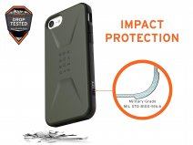 Urban Armor Gear Civilian Groen - iPhone SE 2020 / 8 / 7 / 6(s) hoesje