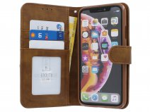 Classic Wallet BookCase Bruin - iPhone 11/XR hoesje